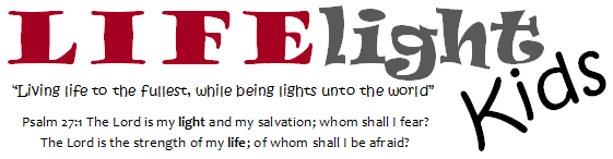 LIFElight logo with verse