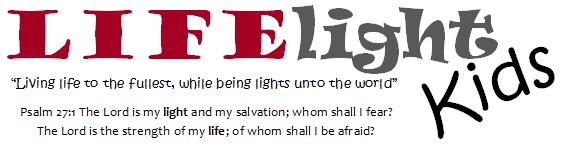 LIFElight logo with verse
