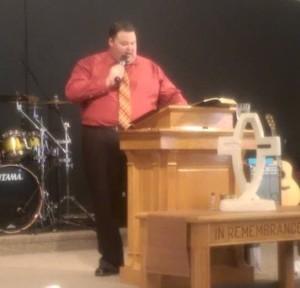pastor preaching june 2015